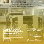 La Hidroeléctrica #Sopladora es la 3era #Megaconstrucción que genera #EnergíaLimpia para el país. #HacemosFuturo. https://t.co/X70mkm4i1t