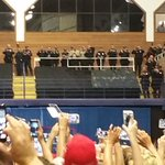 Some Austin police applauding at a Trump rally. Chief Acevedo put a stop to it when alerted @elpasotimes https://t.co/f4iKumCJ0T