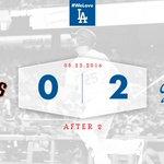 After 2: #Dodgers 2⃣, Giants 0⃣ 👏 https://t.co/z5vbaFzHSi