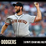 Madison Bumgarner takes the hill as the #SFGiants open up series in L.A. https://t.co/aDExSShQnr https://t.co/RFluIMNJ7S