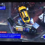 #breaking 3 pedestrians in critical condition after taxi accident on #SF market street right now. https://t.co/qFfkLirfTr