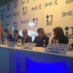 #Ahora El Min.#LuisArce en el lanzamiento del Mercado Electrónico de la Bolsa Boliviana de Valores. https://t.co/4pwOqRQIEp