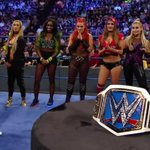 """""""Which one of you will be the first-ever @WWE #SmackDown Womens Champion?"""" - @WWEDanielBryan #SDLive https://t.co/zc9btSAsJw"""