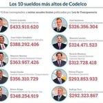 #NoHayUnPutoPeso y estos son los sueldos del Directorio de Codelco!!! una verdadera burla 😡👎... ese es mi 🇨🇱 querido https://t.co/jhlkrq7bS7