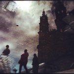 Fotografía artística del reflejo de nuestra catedral de #Tepic después de una tarde lluviosa🏰☔ #SoyDeTepic 💙 https://t.co/oLSb3WOEXu