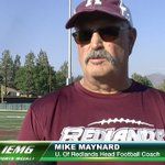 U. of Redlands head coach Mike Maynard and the @UofR_Football team on SportsWeekly. https://t.co/JcSV49AQUo https://t.co/elOREGHqwF