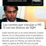 #NoHayUnPutoPeso para la campaña... pídanle al yerno de Pinochet (Bachelet, @Carolina_Toha, @marcoporchile y cía) https://t.co/VKXsj4qo5u