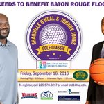 Full details coming but this is great news as @SHAQ & @LSUCoachJones are going all in for flood relief. https://t.co/DP5HD4OPd1