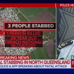 """The phrase Allahu Akbar was uttered"" - Police on Home Hill stabbing attack. #9News https://t.co/sAafEMeH43"