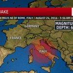 BREAKING: Preliminary 6.2 magnitude #earthquake hits Italy. More: https://t.co/FoEPKyLqrs https://t.co/PAvHpgnpI8