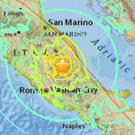 JUST IN: 6.2 magnitude earthquake strikes central Italy, tremors felt in Rome. (via @USGS) https://t.co/H489LDXPcO