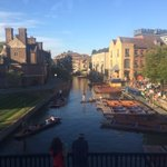 Looks like its going to another beautiful day in Cambridge ☀️ #GoingtoARU #Cambridge #Punting https://t.co/TUhDmWbfuu