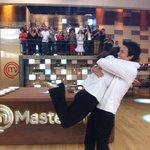 A @MC3_Bruna e o @MC3_Leonado conseguiram entregar todos os pratos! #MasterChefBR https://t.co/LdpEqzHTKm