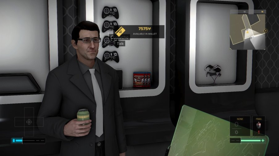 Okay, so I just got Deus Ex: Mankind Divided and UMMMM  THIS IS REAL I DIDN'T PHOTOSHOP THIS. THIS ACTUALLY IN-GAME. https://t.co/i6W9ZcdSSI