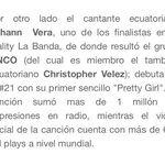 WOW !!! Gracias #Ecuador 😍🎉💪 Quiero llegar YA !!! Vamos por más !!! A seguirla pidiendo en todas las radios !!! https://t.co/MwTOZdwUNk