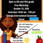 #FREE College Prep Boot Camp in the #Atlanta Area. Do not miss out! 8th Grade - 12 grade. https://t.co/ltHGQCivWP