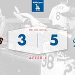 After 5: #Dodgers 5⃣, Giants 3⃣ 👊 https://t.co/cPMqb6W5xw