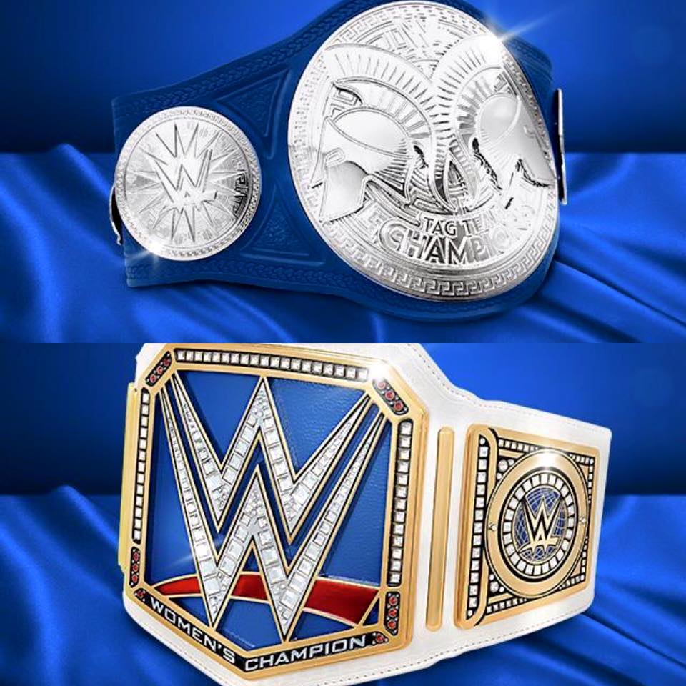 NEW #SDLive Tag Team & Women's Championships!! Champs will be crowned at #Backlash on the @WWENetwork https://t.co/hqJgqR6BW5