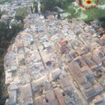 Amatrice, central #Italy, after the #earthquake (pic by Italys fire fighters) https://t.co/ZfZiX1BtgK