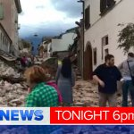 Desperate rescue efforts in central Italy after earthquake wipes out a number of villages. Details #9newsat6 https://t.co/4M8Mw2kM6h