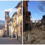 Vicini agli amici di #Amatrice #Accumoli #PescaradelTronto e a tutti i comuni colpiti dal #terremoto https://t.co/ztrZuBX5hg