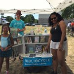 When you see the #BPLBibliocycle out and about in #Boston this week, take a selfie for swag. https://t.co/i0LvRp9Bi3 https://t.co/dBhYJCGH0O