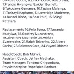 @zimbabwerugby u19 team to face @OfficialKRU u19 today at 3pm in @RugbyAfrique Division 1 Champs Go #zimbabwe 🇿🇼 https://t.co/KZt6nYYha6