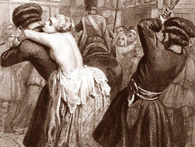 Телесное наказание рабынь фото 463-238