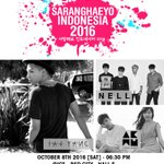[CONFIRMED] SARANGHAEYO INDONESIA 2016: Taeyang, Akdong Musician and Nell. 08 October 2016 - 630PM at ICE BSD City. https://t.co/BekVNUYVyt
