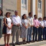 Minuto de silencio en el Cabildo de Lanzarote por la víctima de violencia de género de Santa Brígida https://t.co/PFJGJAvZqx