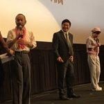 【配信中】 会場の歓声が凄すぎて松尾諭さんから「まずは君たちが落ち着け!!」が生で飛び出ました!www https://t.co/2ZUOV0NrVo #LINELIVE #シンゴジラ #発声可能上映 #女性限定鑑賞会議 https://t.co/eJdyl3xrU4