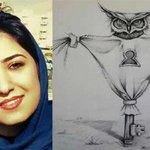 "#Iran #News Mocking the ""Rouhani government's achievements!!"" in Farghadani's caricature https://t.co/hEtpt3AbgC https://t.co/yFDJIb02gK"