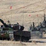 Türk Silahlı Kuvvetlerine ait tanklar saat 11.07 itibariyle Suriye'ye giriş yaptı https://t.co/BL49TNb8BR