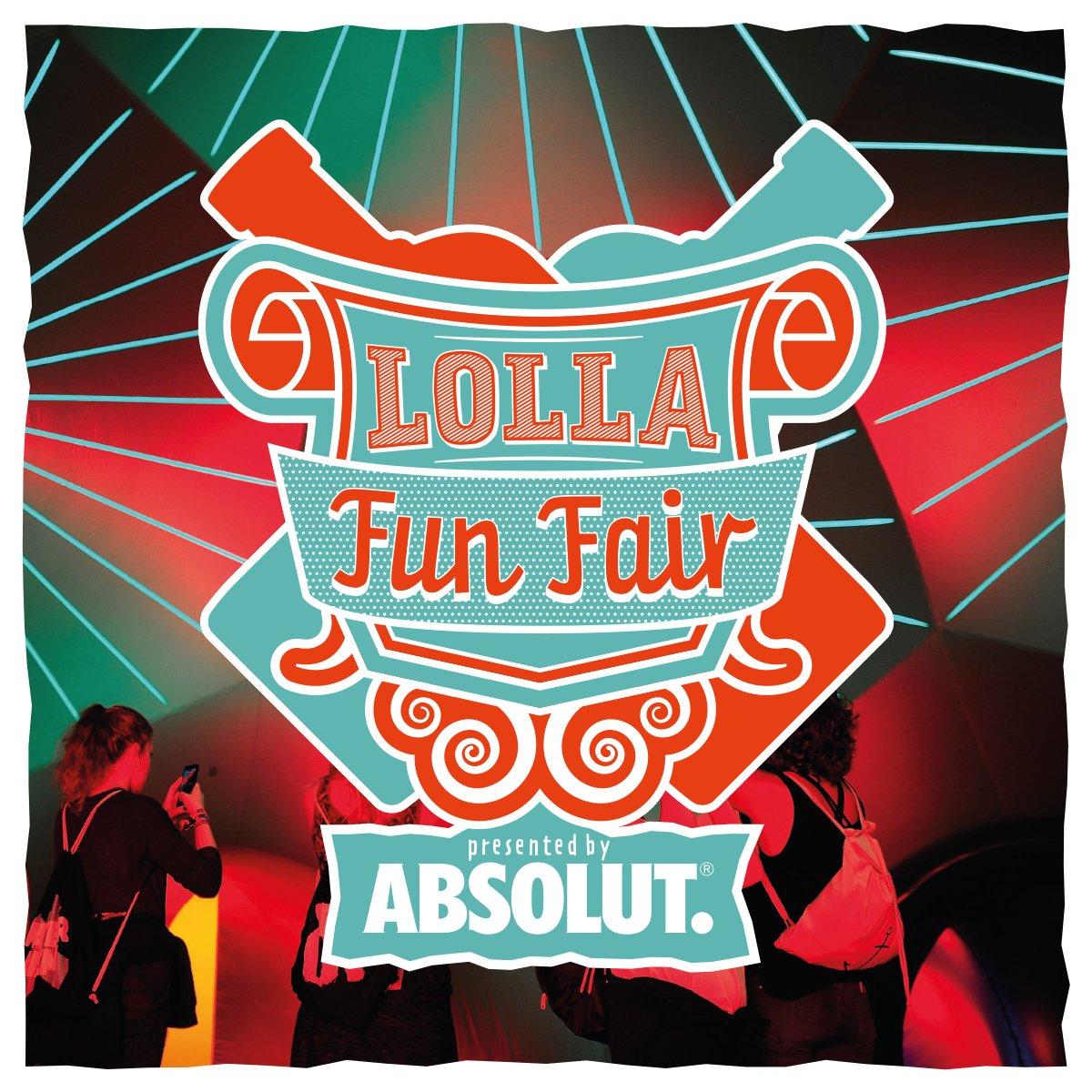 Step into our fabulous world of Lolla Fun Fair!    https://t.co/REuco5VHB8 #lollaberlin #lollafunfair https://t.co/BV98czQeOO
