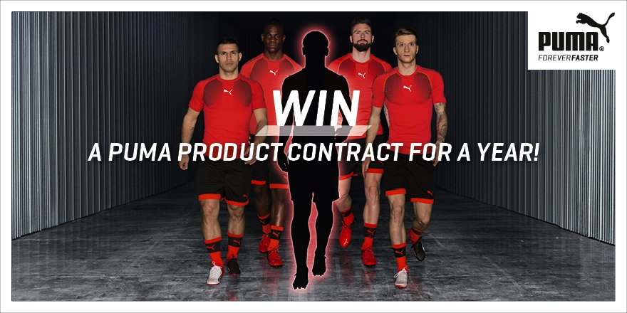 .@PUMA are giving one lucky winner the chance to be treated like a @pumafootball ambassador: https://t.co/MjVk7YKYZW https://t.co/r7a9sZBFEc