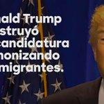 """El plan de Trump sobre inmigración ha sido claro: demonizar inmigrantes, """"construir la muralla"""", deportar millones. https://t.co/90NGNvX5RF"""