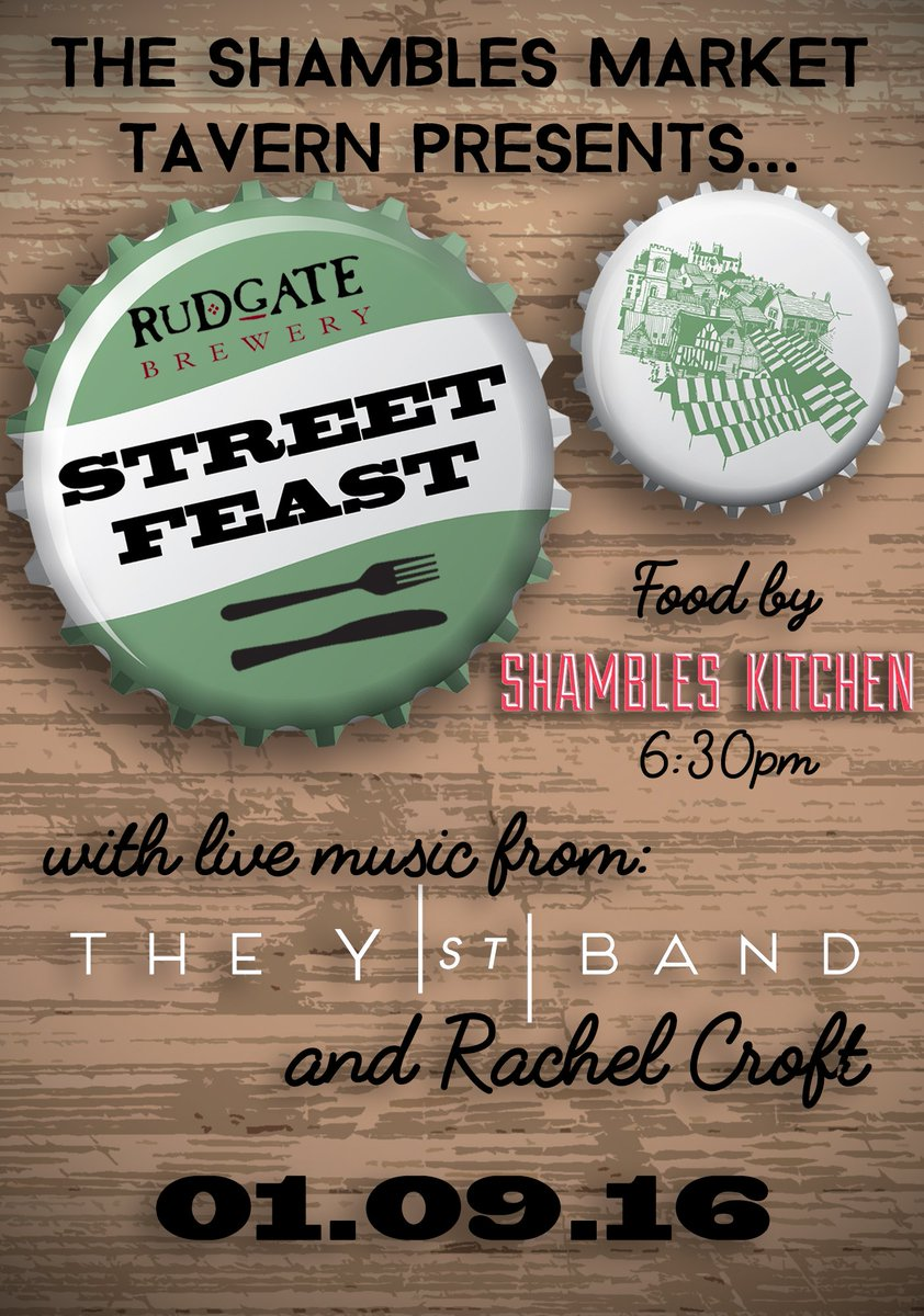 #StreetFeast is going to be great! September 1st @ 6:30pm. https://t.co/x3ZWlkrqnP #event #foodanddrink #livemusic https://t.co/fIVtQDokhC