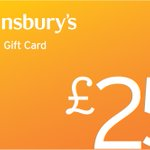 NEW COMP - #WIN a £25 @sainsburys Gift Card RT & F to enter - use online or in store https://t.co/opNIai9MUC https://t.co/LWt0MpzOiU