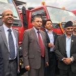 Ambassador Rae hands over 17 fire trucks to HE Minister Sri Hitraj Pandey, MoFALD, GoN https://t.co/w7g8NIOeAb