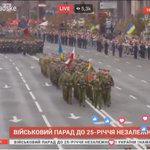 Happy to see a joint Ukrainian-Lithuanian-Polish military unit in the independence parade in Kiev. https://t.co/N6DXbWAkw4
