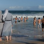 I wonder if France would make these ladies take their clothes off too. #BurkiniBan https://t.co/PP6EIWlaoZ
