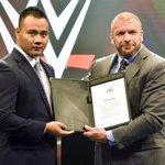 Bin Wang to make his official #WWE in-ring debut next month, #RAW dark match https://t.co/ElgiJzncwN https://t.co/C1eBk0w8w4
