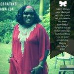 Happy Birthday Mama @IdaOdinga https://t.co/uj0KhmbBK3