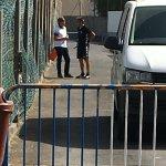 Serrano informa a Martí del estado de las negociaciones abiertas para traer a dos futbolistas más al @cdtoficial. https://t.co/KmW2swXdo9