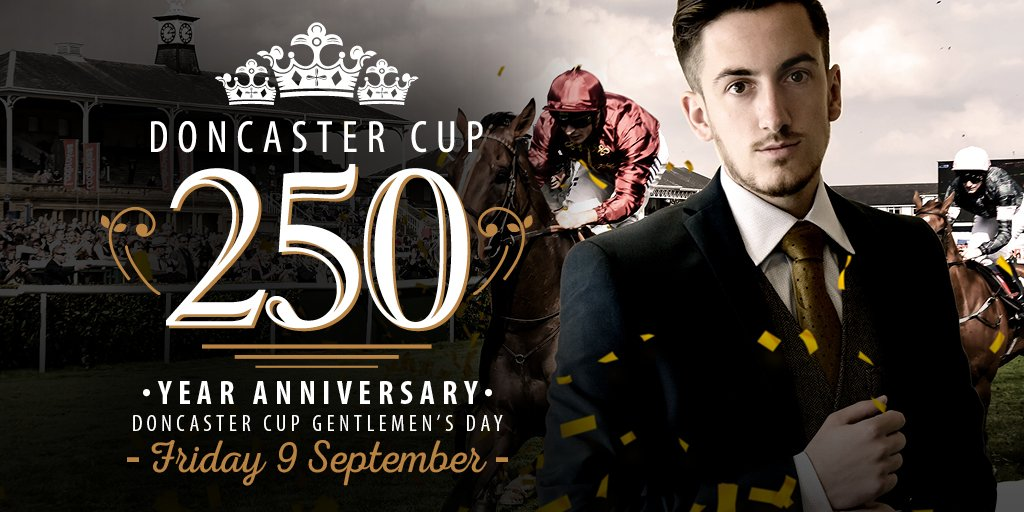 Want to celebrate the 250th running of the Doncaster Cup with us? Just follow & RT for your chance to WIN 2 tickets! https://t.co/A4Umfd4o7t