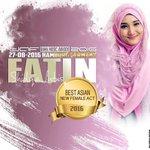 "Alhamdulillah .Congrats @FatinSL ""BEST ASIAN NEW FEMALE ACT 2016"" Daf BAMA MUSIC AWARDS #Winner #DafBAMA2016 https://t.co/TJz6rZo049"