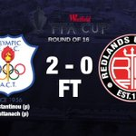 Thats it! @COFC1956 are through to the @FFACup quarter finals! #COLvRED #FFACup https://t.co/Uldb2etbUU