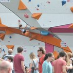 ...& the giant floating climbing wall is back in #Exeter this weekend - and we all love that @Devon_Hour #devonhour https://t.co/Apnu9CznTj