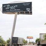 Hey ISIS, you suck! billboard appears in #Phoenix: https://t.co/V6pHn1YLWl via @kailawhite https://t.co/Qu99QmXRUh