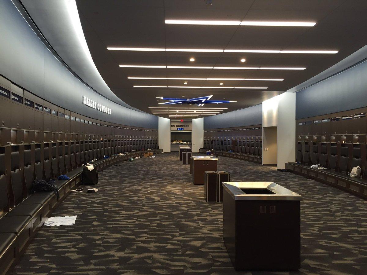 Dallas Cowboys Locker Room Photos